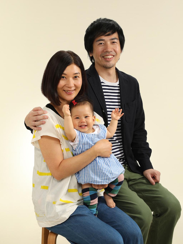 バースデー記念写真撮影例(家族)千葉そごう写真館