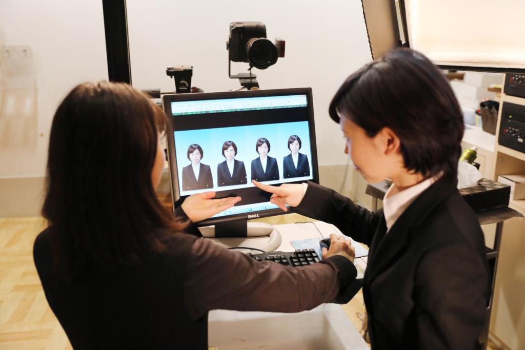 就職履歴書用証明写真(リクルート)千葉そごう写真館