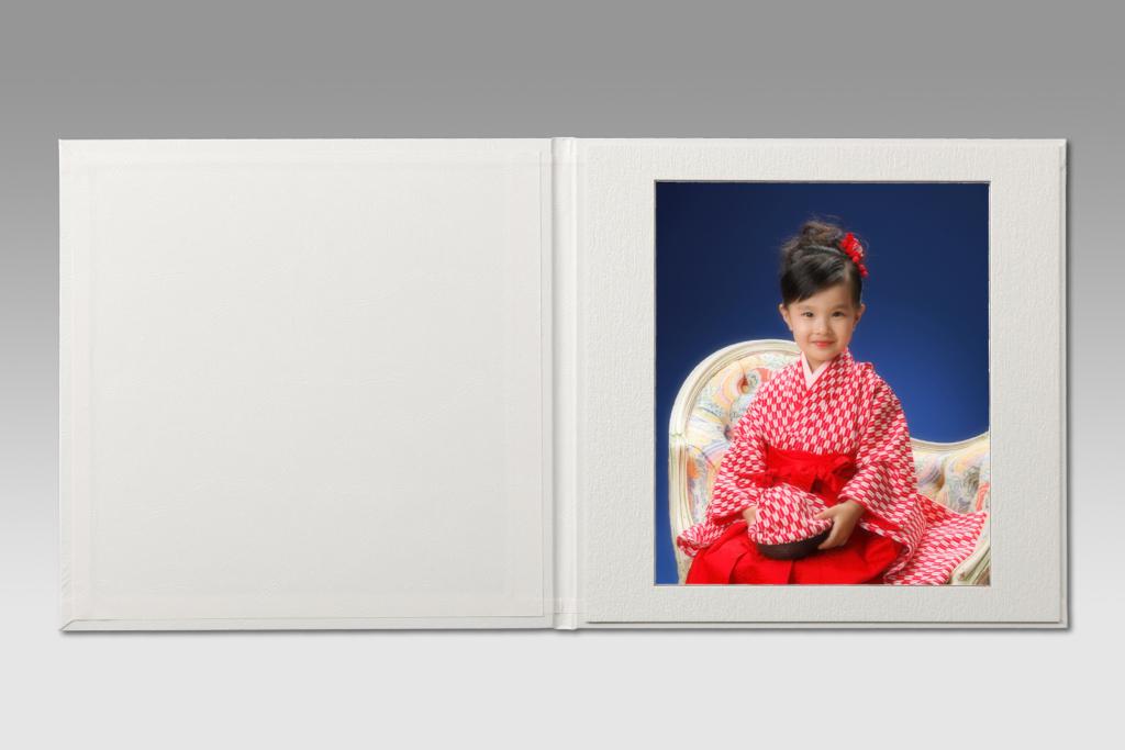 デラックス台紙(レザー台紙1面)千葉そごう写真館