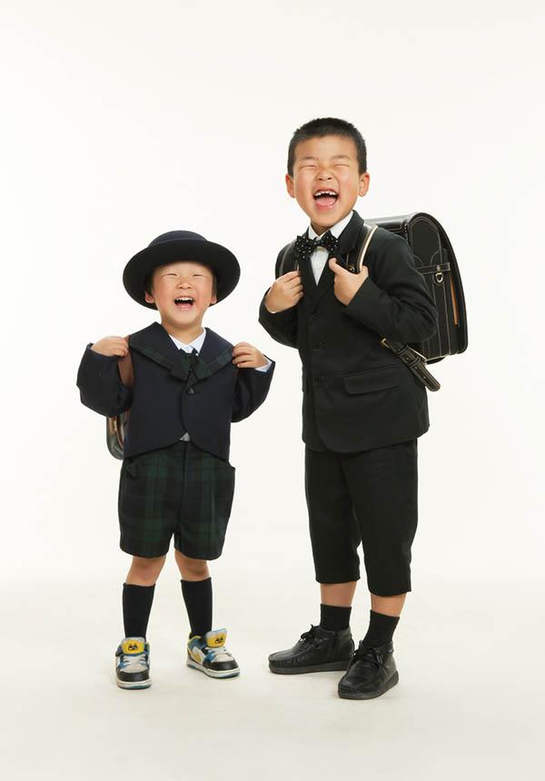 入学 男の子 兄弟
