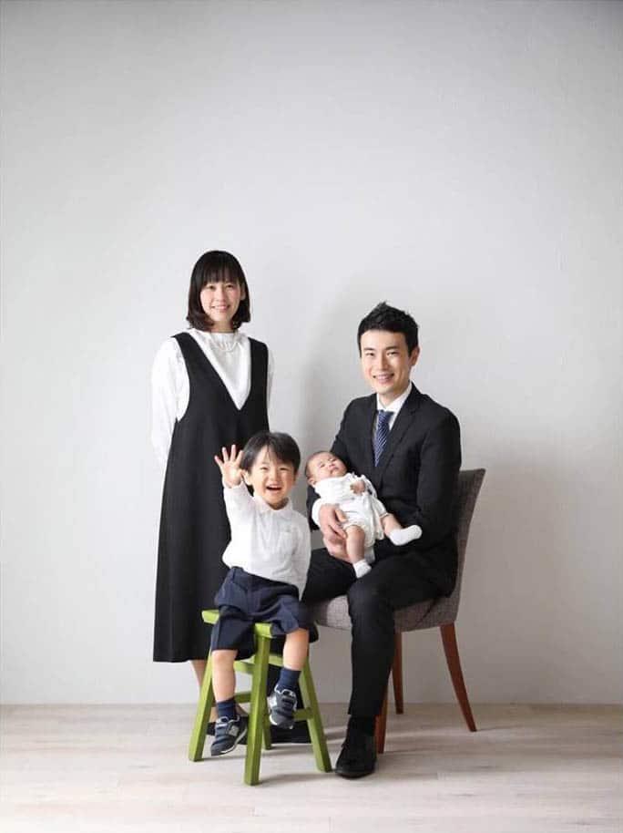 お宮参り 赤ちゃん 家族 fb