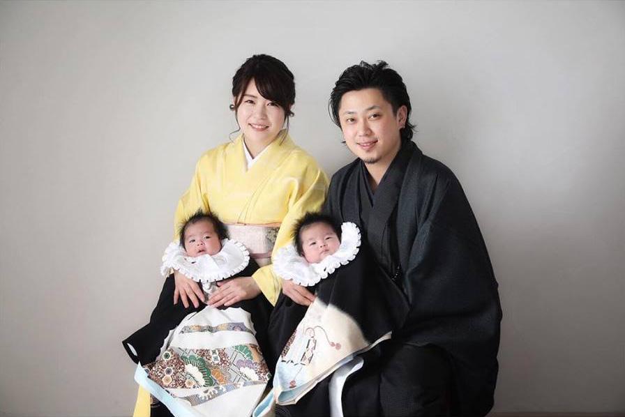 お宮参り 赤ちゃん 家族 fb  –