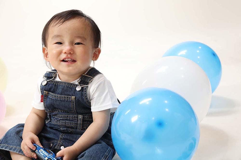 1歳誕生日 男の子