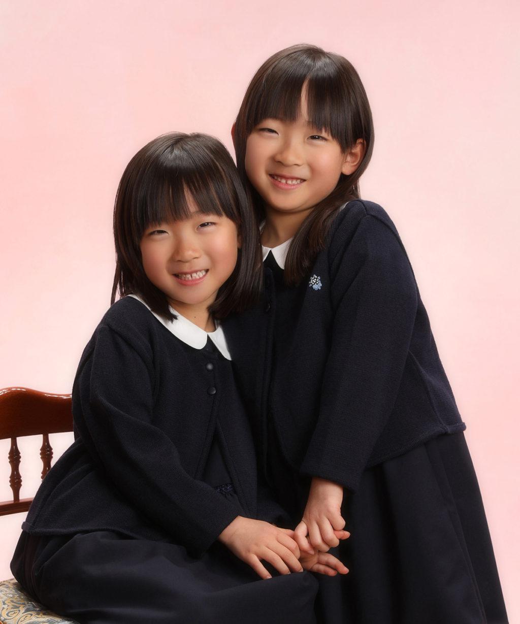 入園・入学記念写真撮影例(女の子)横浜そごう写真館
