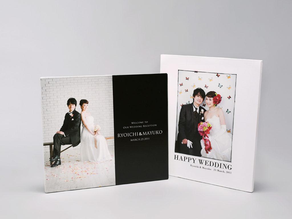 記念写真を「飾る」キャンバスプリント(横浜そごう写真館)