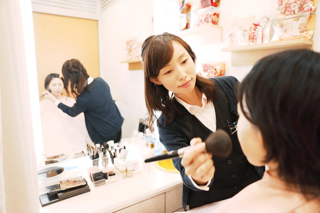 就職履歴書用(リクルート)横浜そごう写真館