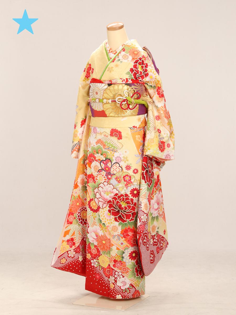 成人式衣裳6 <ランクアップ>お出かけOK!