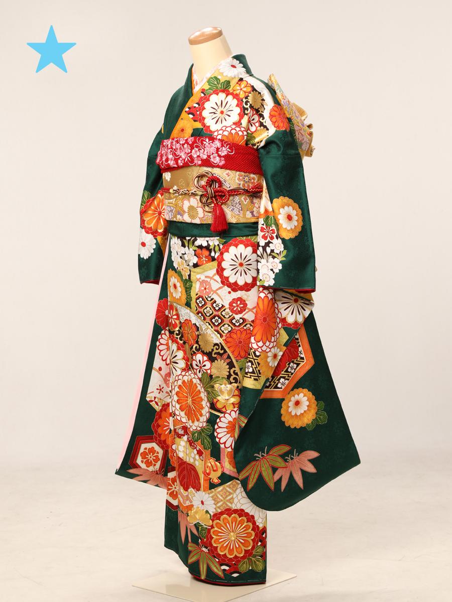 成人式衣裳28<ランクアップ>お出かけOK!